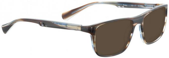 Bellinger BLAKE-779 Sunglasses in Matt Black Glitter/Blue
