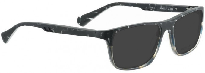 Bellinger BLAKE-942 Sunglasses in Grey/Brown/Blue