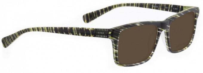 Bellinger BOUNCE-11-931 Sunglasses in Green Matt