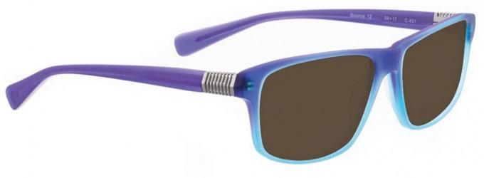 Bellinger BOUNCE-12-451 Sunglasses in Blue Gradient Matt