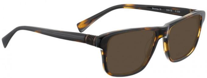 Bellinger BOUNCE-18-235 Sunglasses in Dark Brown Tortoiseshell