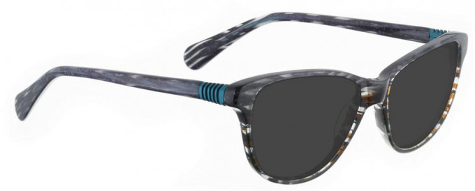 Bellinger BOUNCE-19-603 Sunglasses in Purple/Brown Acetate Mix