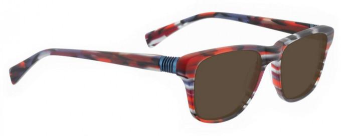 Bellinger BOUNCE-20-124 Sunglasses in Matt Red Pattern