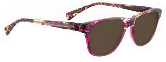 Bellinger BOUNCE-20-264 Sunglasses in Brown/Purple Acetate Mix