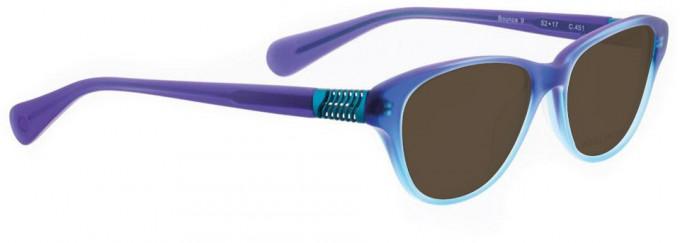 Bellinger BOUNCE-9-451 Sunglasses in Blue Gradient Matt