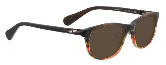 Bellinger BUMPER-1-221 Sunglasses in Brown Pattern