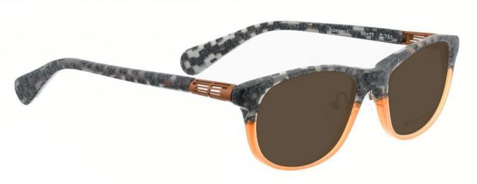 Bellinger BUMPER-1-755 Sunglasses in Grey Pattern/Orange