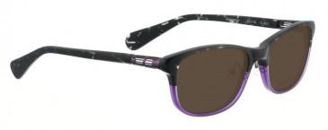 Bellinger BUMPER-2-962 Sunglasses in Black/Purple