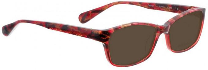 Bellinger CRYSTAL-110 Sunglasses in Red Pattern