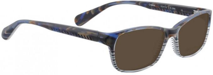 Bellinger CRYSTAL-299 Sunglasses in Brown Matt