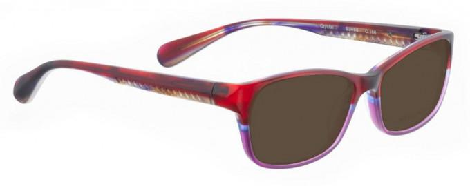 Bellinger CRYSTAL-166 Sunglasses in Red/Purple