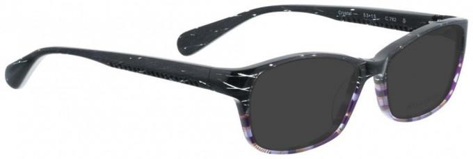 Bellinger CRYSTAL-762 Sunglasses in Grey/Purple Pattern