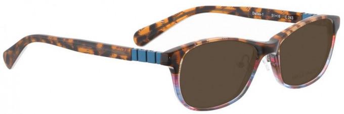 Bellinger DALLAS-1-243 Sunglasses in Brown Pattern