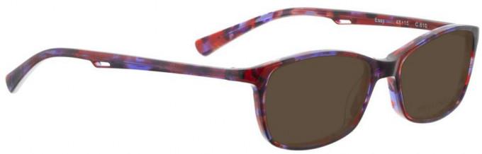 Bellinger EASY-610 Sunglasses in Purple/Brown Pattern