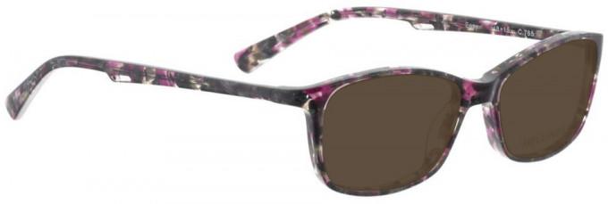 Bellinger EASY-765 Sunglasses in Grey/Purple Pattern