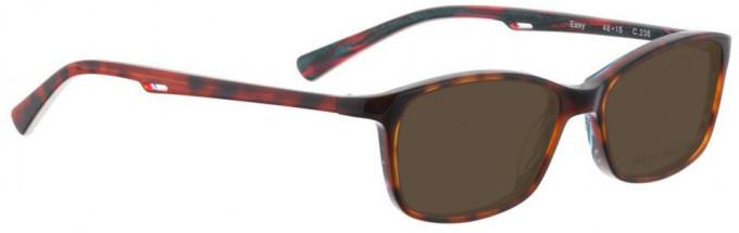 Bellinger EASY-236 Sunglasses in Brown/Pink/Green Pattern