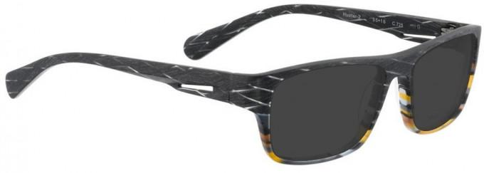 Bellinger HUSTLER-2-725 Sunglasses in Matt Layered Aceate Mix