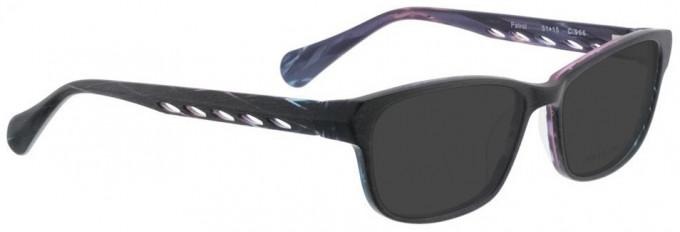 Bellinger PATROL-966 Sunglasses in Black Purple Layers