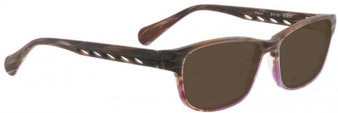 Bellinger PATROL-237 Sunglasses in Brown Pattern