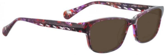 Bellinger PATROL-616 Sunglasses in Purple Pattern