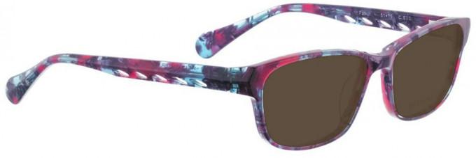 Bellinger PATROL-670 Sunglasses in Pink Blue Pattern