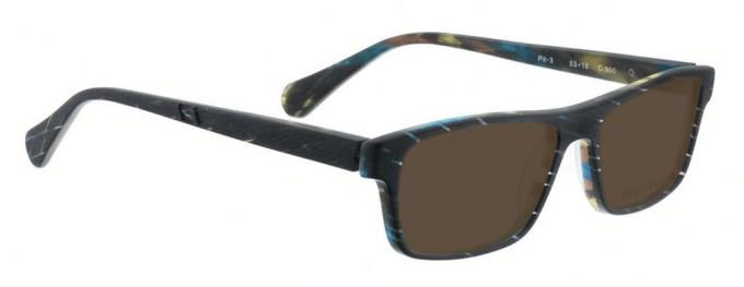 Bellinger PIT-3-900 Sunglasses in Matt Black Pattern