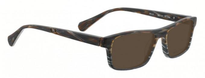 Bellinger PIT-3-290 Sunglasses in Brown Pattern