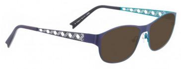 Bellinger CROSS-2-6248 Sunglasses in Purple