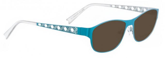 Bellinger CROSS-2-4898 Sunglasses in Turquoise