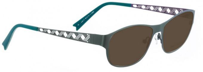 Bellinger CROSS-2-3464 Sunglasses in Army Green