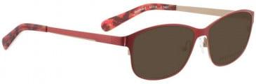 Bellinger GOLDLINE-1-6897 Sunglasses in Dark Purple/Matt Gold