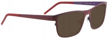 Bellinger GRILL-2-6149 Sunglasses in Dark Purple
