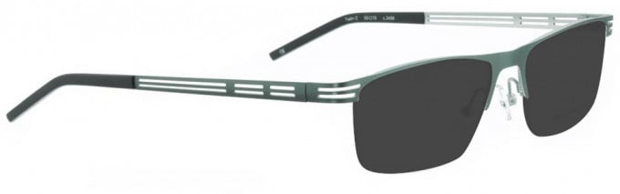 Bellinger TWIN-2-3498 Sunglasses in Army Green