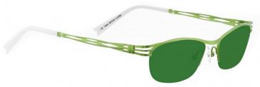 Bellinger TWIST-3700 Sunglasses in Light Green Pearl