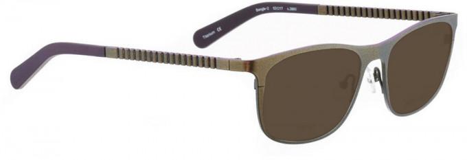 Bellinger BANGLE-2-3860 Sunglasses in Metallic Green