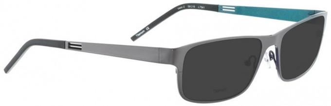 Bellinger VENT-2-7541 Sunglasses in Shiny Grey