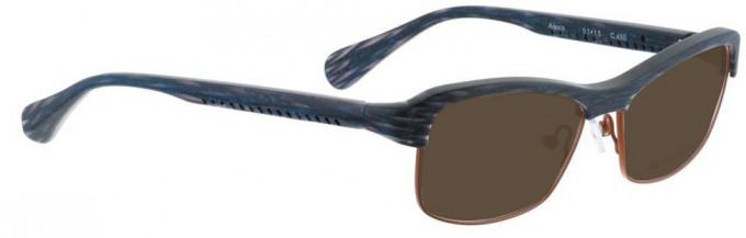 Bellinger ALEXIS-450 Sunglasses in Blue Pattern