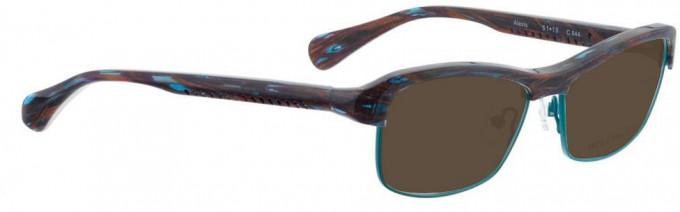 Bellinger ALEXIS-644 Sunglasses in Purple/Blue Pattern