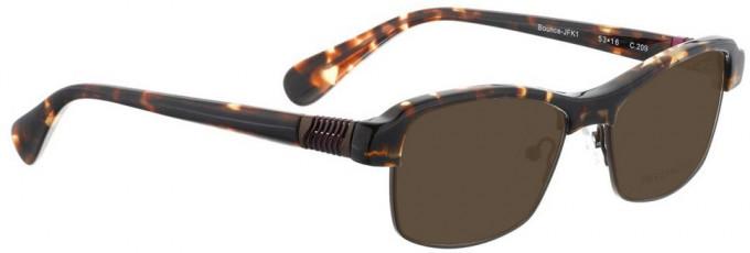 Bellinger BOUNCE-JFK-1-209 Sunglasses in Dark Brown Tortoiseshell