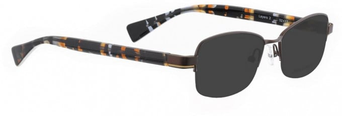 Bellinger LAYERS-2-28 Sunglasses in Brown