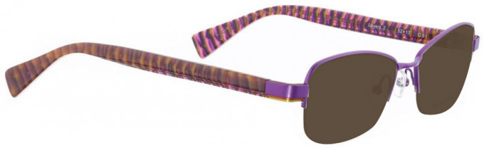 Bellinger LAYERS-2-61 Sunglasses in Purple