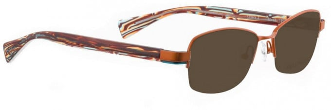 Bellinger LAYERS-2-56 Sunglasses in Shiny Orange