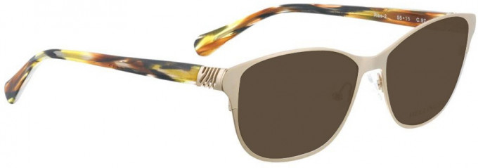 Bellinger RIBS-2-9700 Sunglasses in Gold