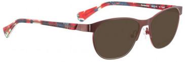 Bellinger SUNDANCER-1567 Sunglasses in Dark Red/Pink