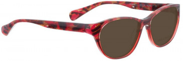 Bellinger AMANDA-110 Sunglasses in Red Pattern