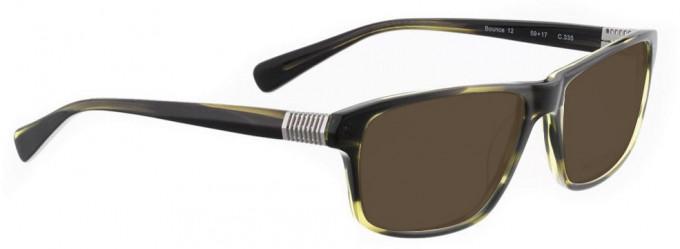 Bellinger BOUNCE-12-335 Sunglasses in Green Tortoiseshell