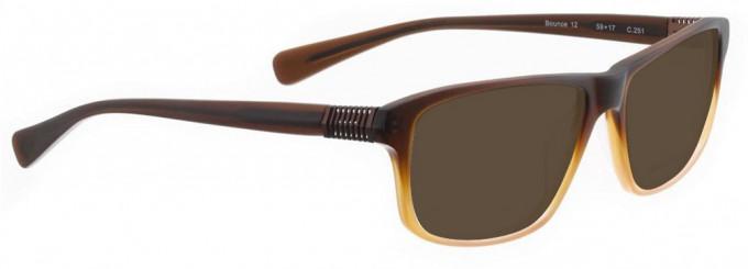 Bellinger BOUNCE-12-251 Sunglasses in Brown Gradient Matt