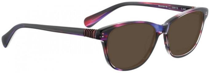 Bellinger BOUNCE-16-697 Sunglasses in Purple Pattern