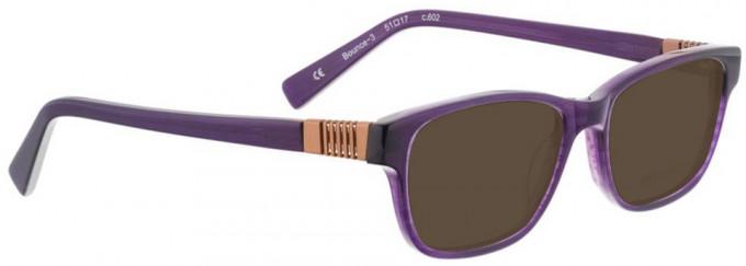 Bellinger BOUNCE-3-602 Sunglasses in Purple