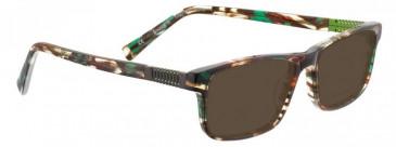 Bellinger BOUNCE-5-210 Sunglasses in Green/Brown Tortoiseshell